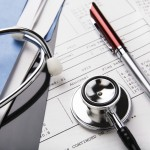 Medical Records & Stethoscope